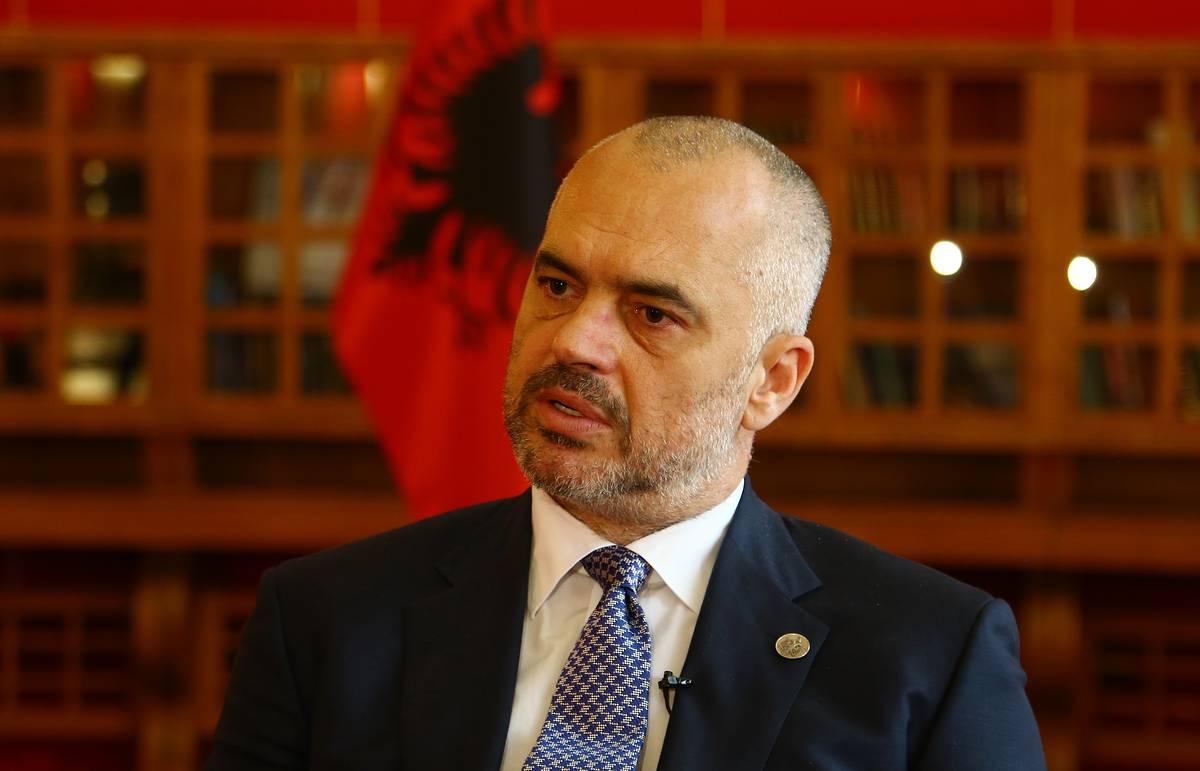 3889639 - Эди Рама премьер-министр Албании